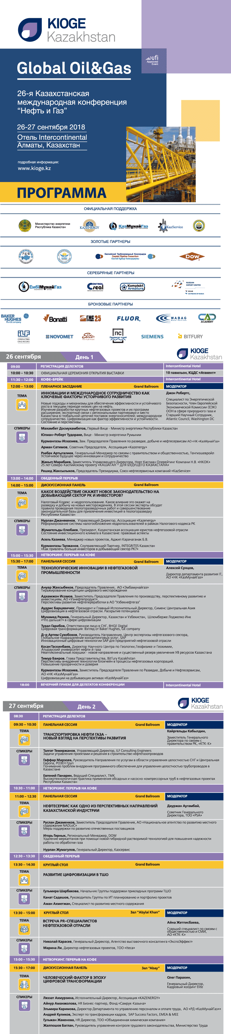 KIOGE18 Conference programme rus 26.09.2018